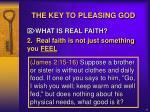 the key to pleasing god4