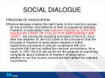 social dialogue9