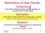 mechanisms of heat transfer1