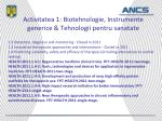 activitatea 1 biotehnologie instrumente generice tehnologii pentru sanatate1