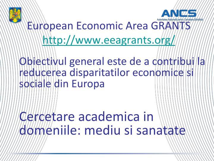 European Economic Area GRANTS
