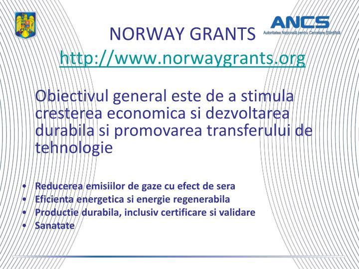 NORWAY GRANTS