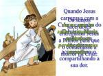 os sumos sacerdotes entregaram jesus a pilatos para que o condenasse a morrer na cruz