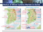 status of wind turbine market in korea1