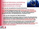 recht auf information und anh rung ist ein fundamentales recht der a rbeitnehmer innen in europa