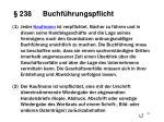 238 buchf hrungspflicht