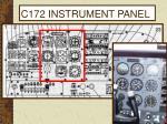 c172 instrument panel