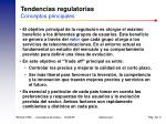 tendencias regulatorias conceptos principales