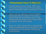 pembahagian dasar di malaysia