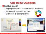 case study chameleon1