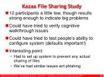 kazaa file sharing study4