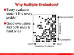 why multiple evaluators