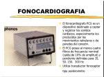 fonocardiografia