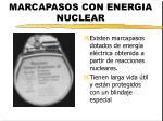 marcapasos con energia nuclear