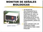 monitor de se ales biologicas