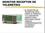 monitor receptor de telemetria