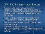 jdai facility assessment process