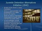 juvenile detention alternatives initiative jdai
