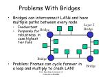 problems with bridges
