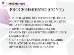 procedimiento cont