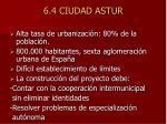 6 4 ciudad astur