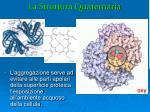 la struttura quaternaria1