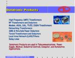 datatronic products
