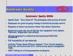 datatronic quality