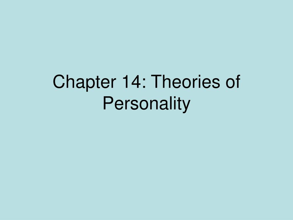 Chapter 10 personality. Ppt video online download.