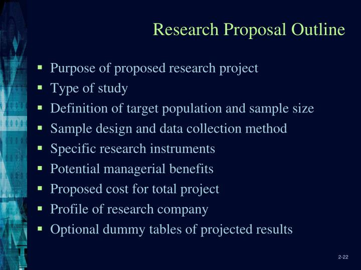 Ppt The Marketing Research Process And Proposals Powerpoint