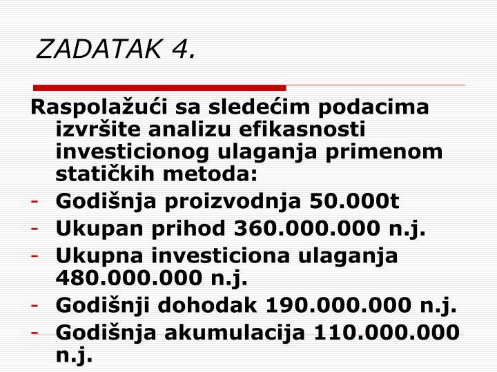 ZADATAK 4.