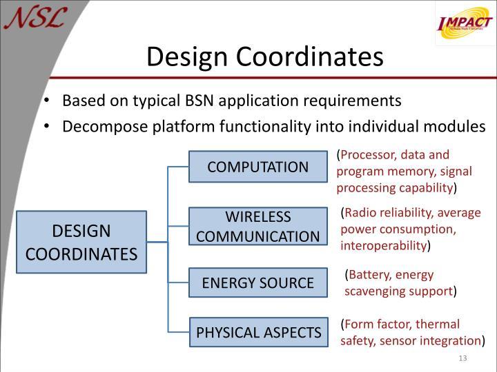 Design Coordinates