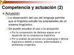 competencia y actuaci n 2