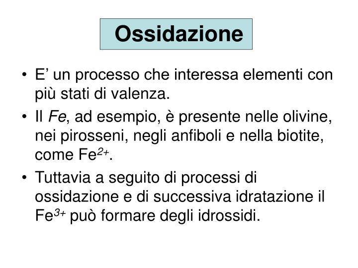 Ossidazione
