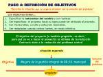 paso 4 definici n de objetivos
