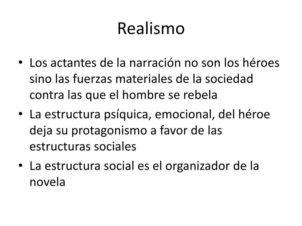 Ppt Realismo Powerpoint Presentation Free Download Id