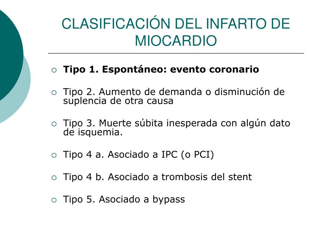 Miocardio 2 tipo de infarto