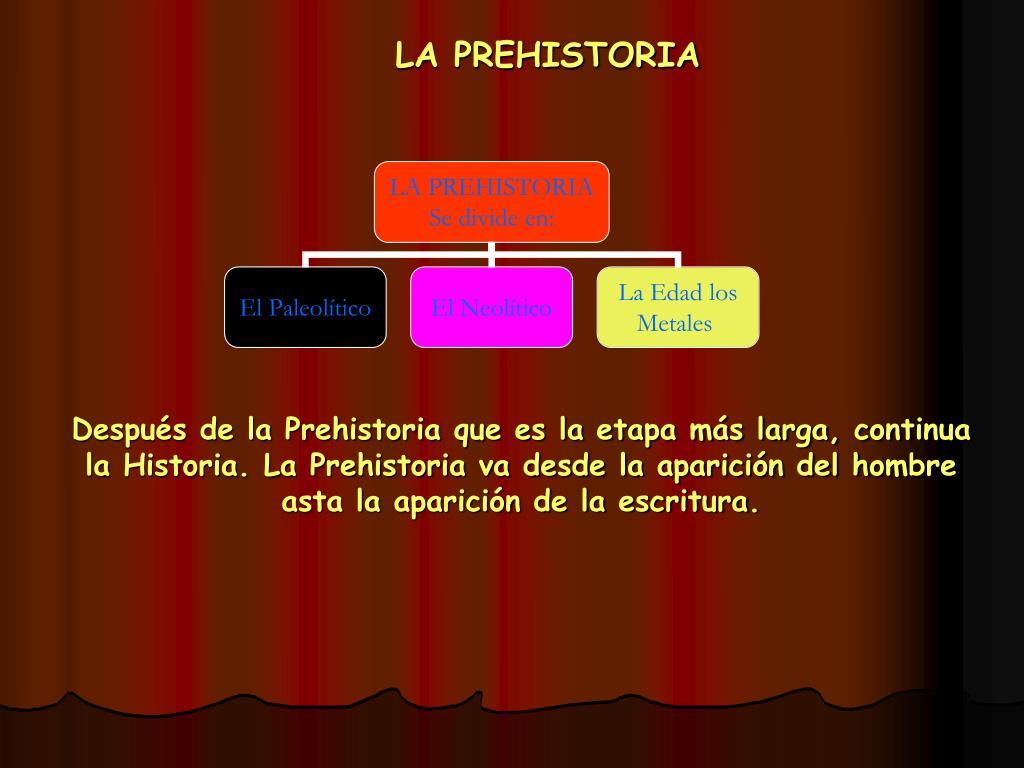 la prehistoria l.