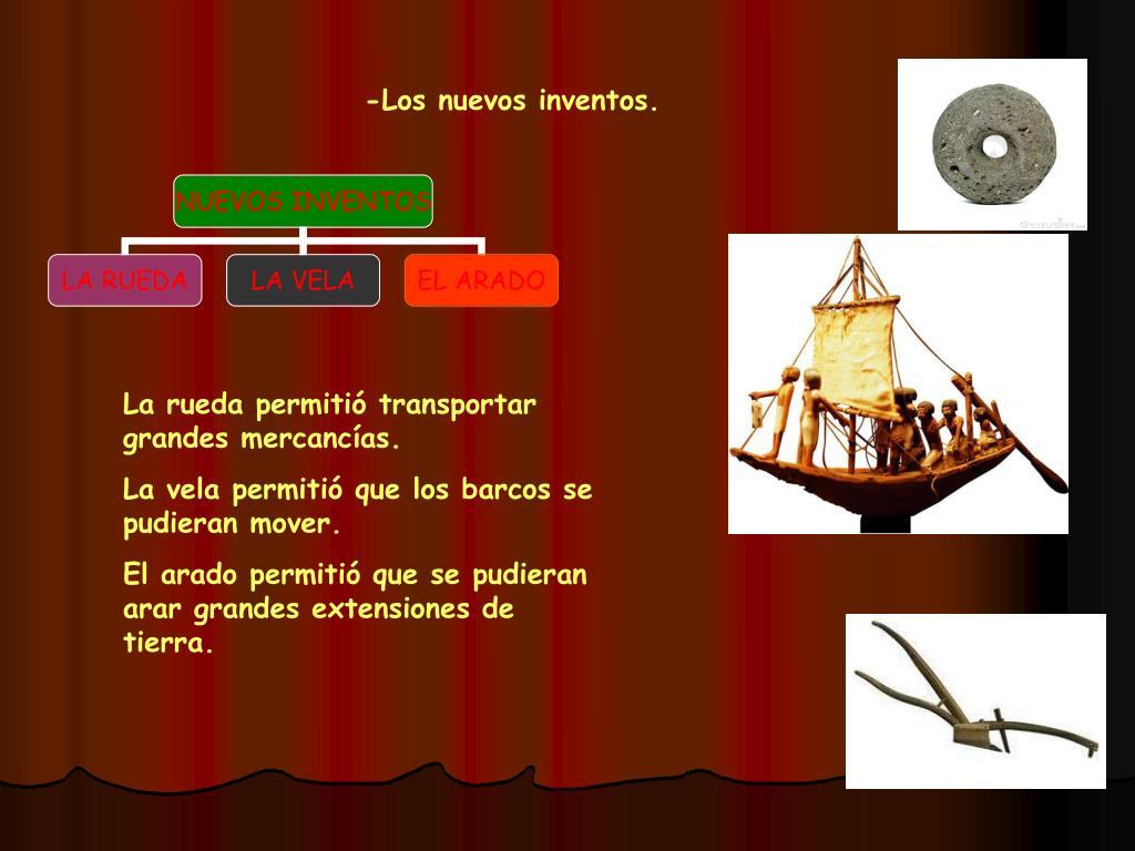 -Los nuevos inventos.
