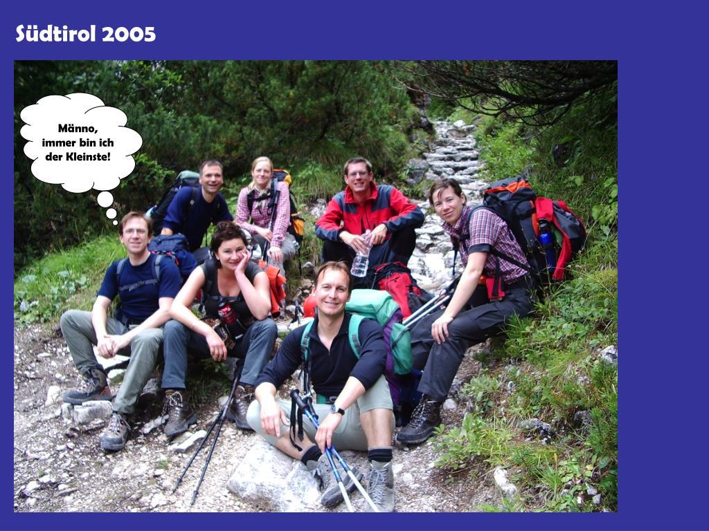 Südtirol 2005