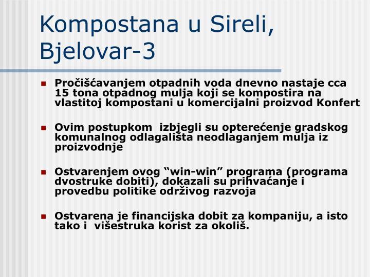 Kompostana u Sireli, Bjelovar-3