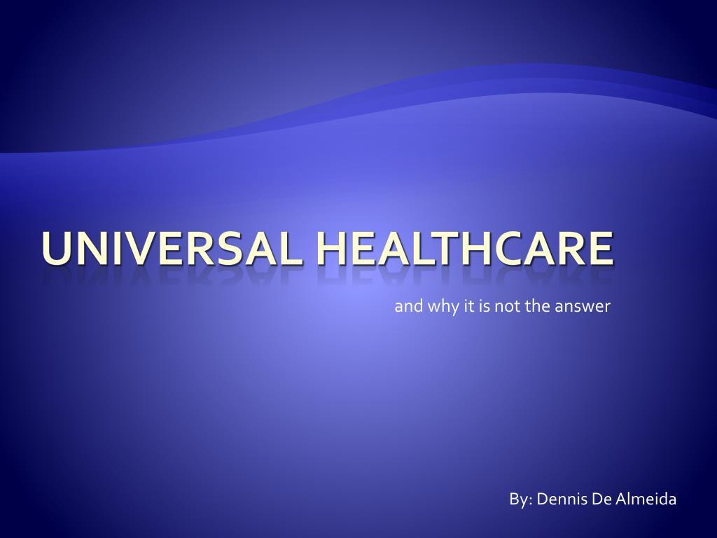 universal healthcare l.