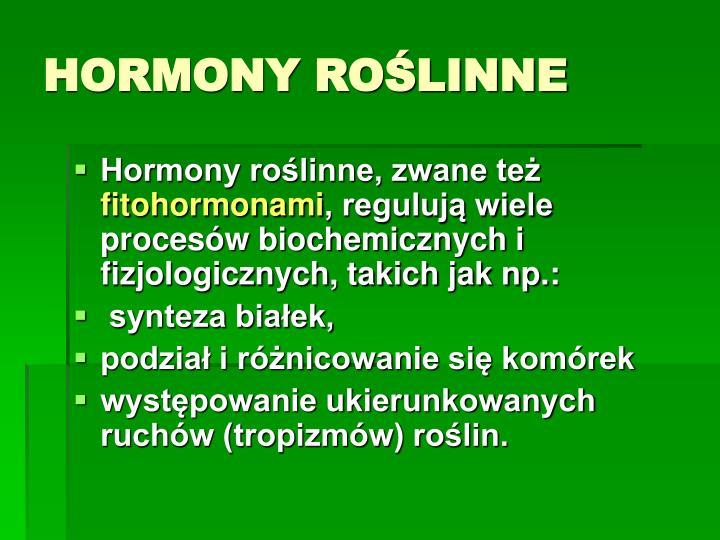 Hormony ro linne1