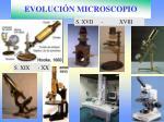 evoluci n microscopio