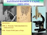 santiago ram n y cajal 1852 1934
