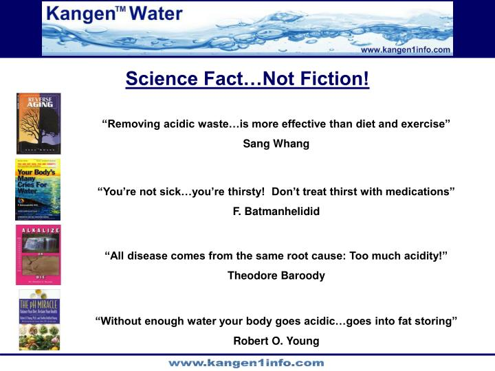 Science Fact…Not Fiction!