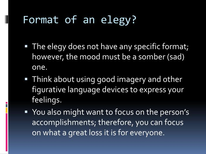 elegy written in a country churchyard essay questions An elegy is a sad poem, usually written to commemorate an thomas gray's elegy written in a country churchyard was written to honor the death of essay.
