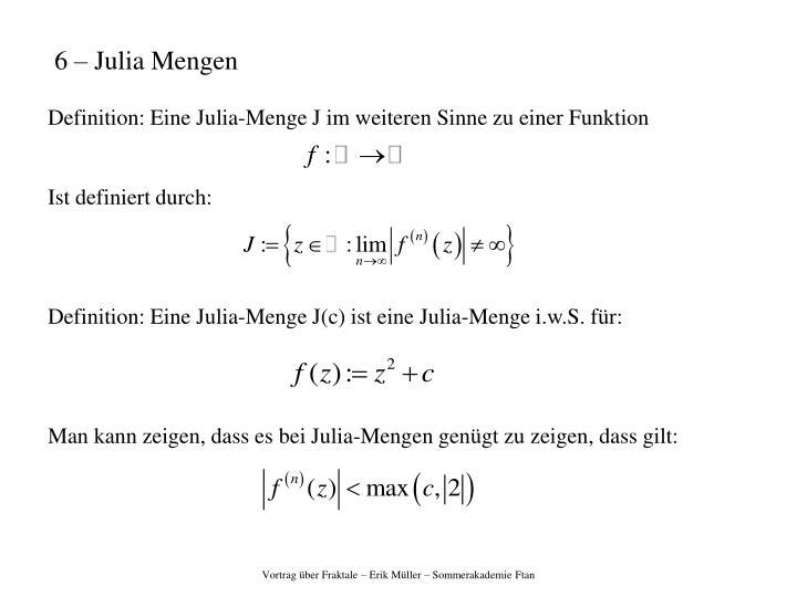 6 – Julia Mengen