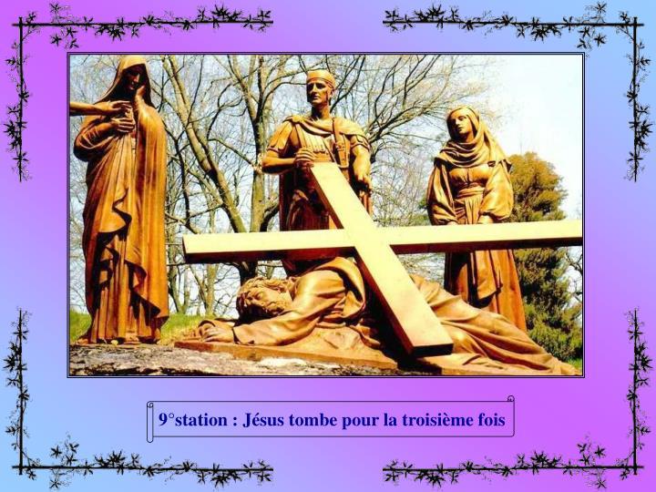 9°station : Jésus tombe pour la troisième fois