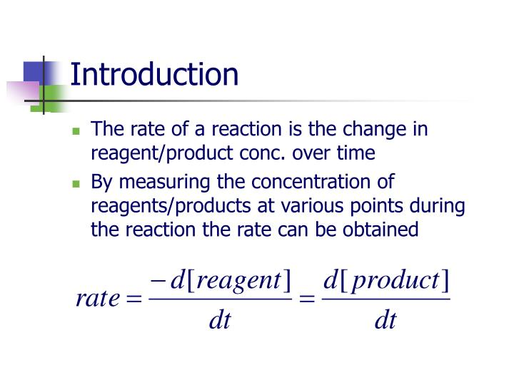 measuring a rate of reaction Investigating an enzyme-controlled reaction: catalase and hydrogen peroxide concentration class practical or demonstration hydrogen peroxide ( h 2 o 2 ) is a by-product of respiration and is made in all living cells.